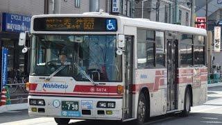 西鉄バス(壱岐5874:野方→博多駅)