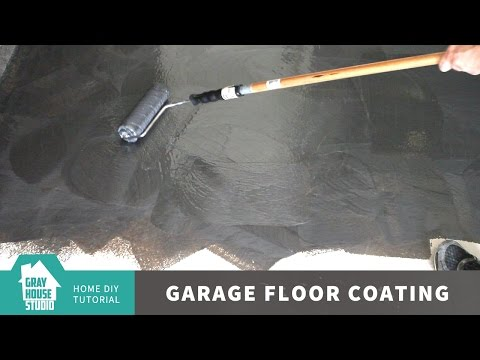 Garage Floor Coating and Repair w/ Rust-Oleum ROCKSOLID