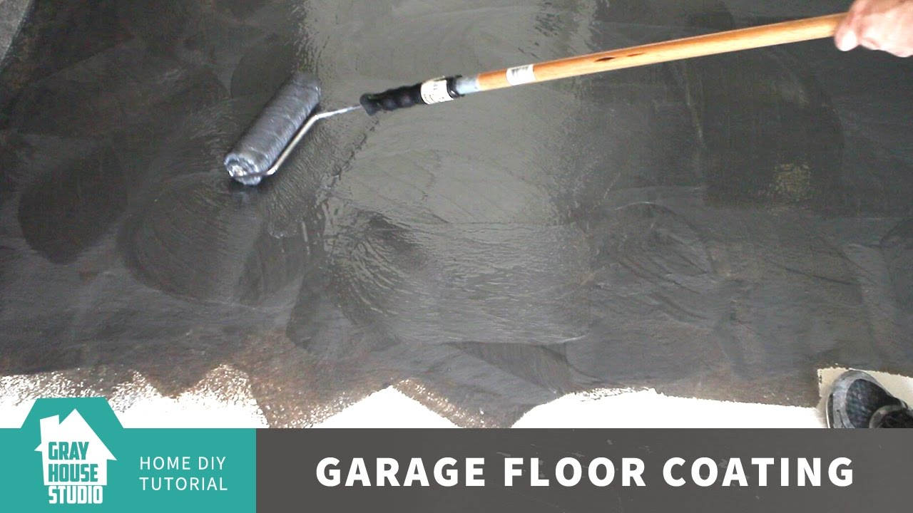 Garage Floor Coating And Repair W Rust Oleum Rocksolid