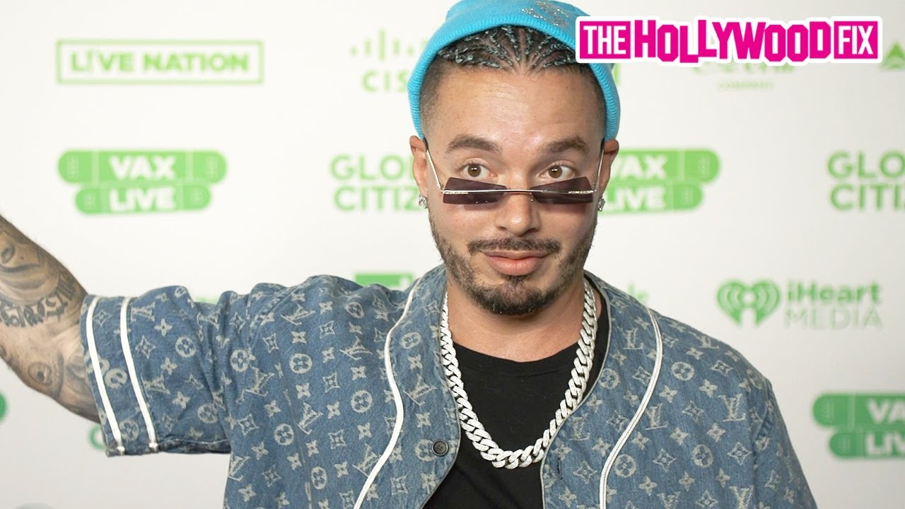 J Balvin Emotionally Speaks On Getting COVID Being The Worst Thing In His Life At VAX LIVE