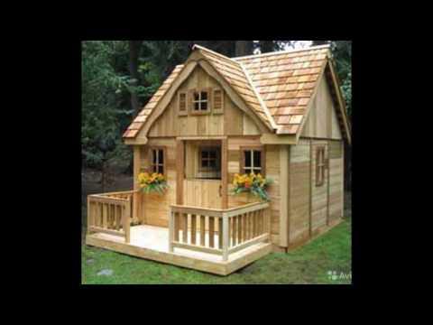 Деревянные дачи. Дачный домик своими руками.