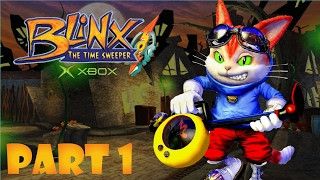 Blinx Time Sweeper Part 1 | Time Square | XBOX Game Play