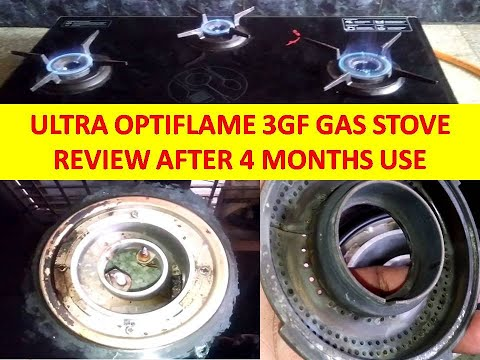 Ultra Optiflame 3GF Gas Stove | 4 Months Review | Review After 4 Months Use | Pro's | Con's