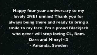 2NE1 4th Anniversary Project - Happy 4th Anniversary!