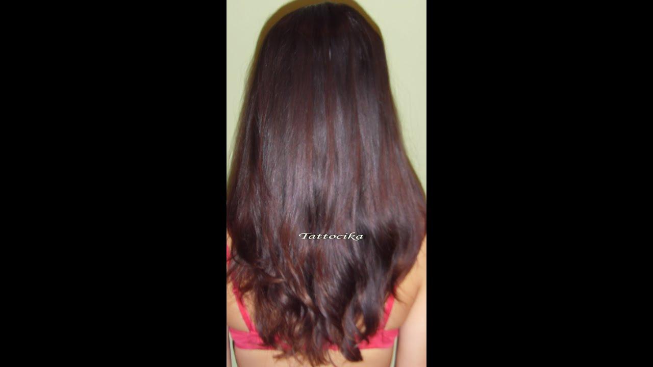 маска для роста волос видео