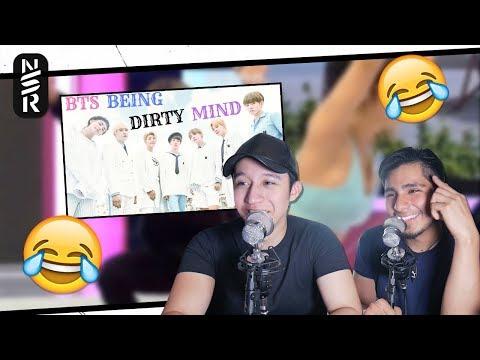 GUYS REACT TO 'BTS Being Dirty Mind Kpop [VGK]'