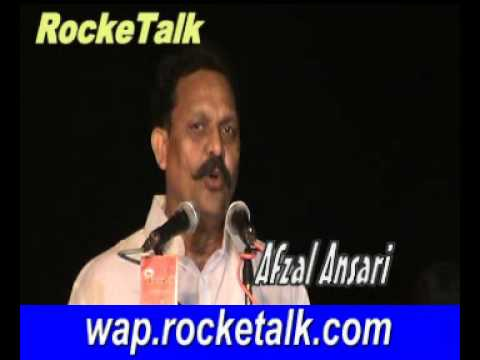 afzal ansari in Mushaira of Ashrafpur usratah Jaunpur U.P India RockeTalk Mushaira Live on Mobile