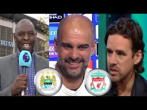 Pundits Reaction to Vincent Kompany's incredible goal & Manchester City will WIN Premier League