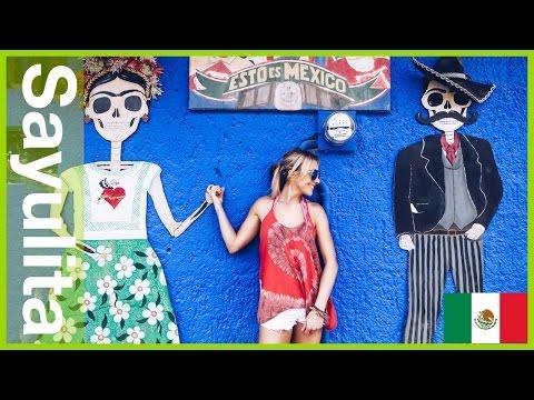 Backpacking Mexico Vlog Day 1 - Sayulita Beach and Positive Vibes!