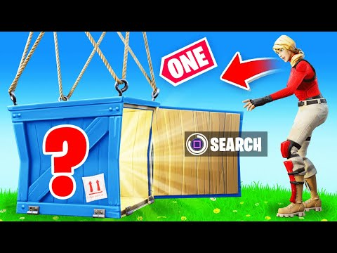 The ONE Supply Drop ONLY Challenge In Fortnite!