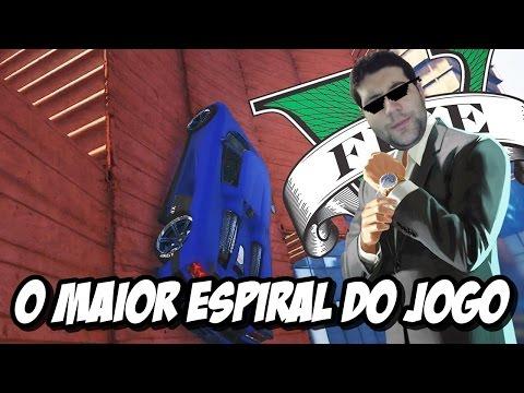 GTA V - O MAIOR ESPIRAL DO JOGO, É ENORME