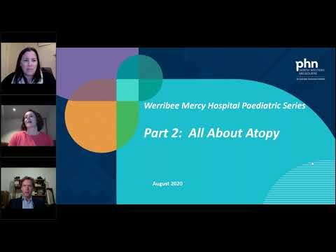 All about atopy (Webinar held on 12 August 2020)