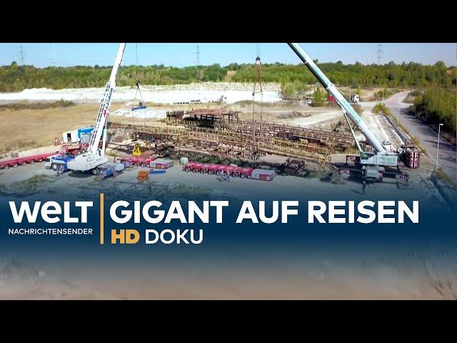 Doku: SCHWERTRANSPORT EXTREM: Sächsischer Stahlgigant geht auf Reise