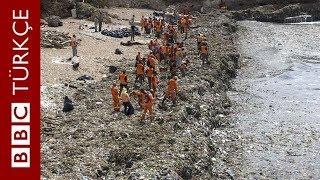30 ton plastik atık Dominik Cumhuriyeti sahillerine vurdu