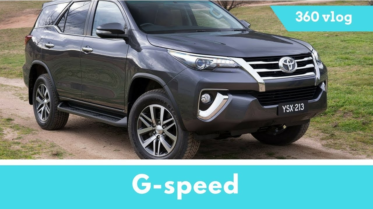 2018 Toyota Fortuner TRD Sport Diesel,4x4;test Drive