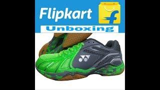 #Yonex badminton shoes unboxing Flipkart    Yonex badminton shoes full review