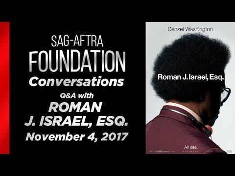 Conversations with ROMAN J. ISRAEL, ESQ.