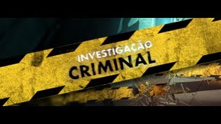 Investigação Criminal - Série Doc - Promo - #PrimeVideo