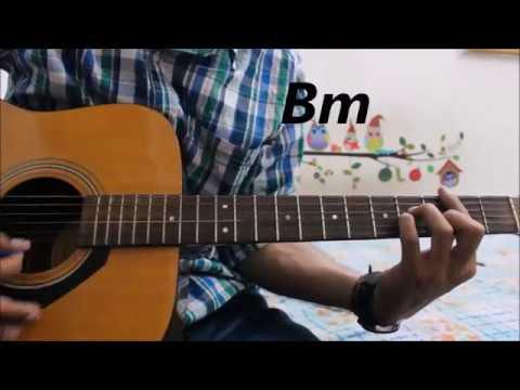 Tajdar-e-Haram - Atif Aslam - Guitar Cover Lesson Chords hindi easy ...