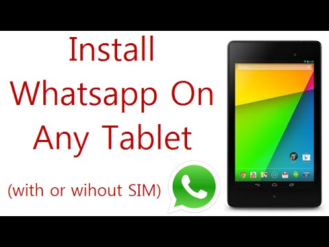 whatsapp latest version for android tablet
