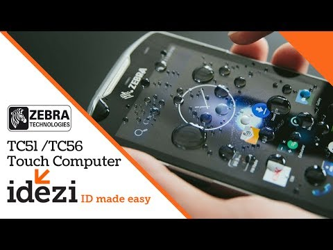 Zebra TC51 & TC56 Touch Mobile Computer Series - Idezi