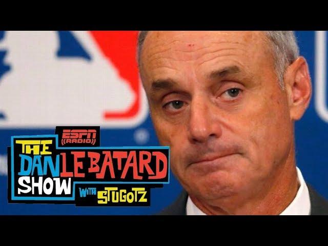 Le Batard grills MLB commish on Derek Jeter slashing Marlins' payroll | Dan Le Batard Show | ESPN