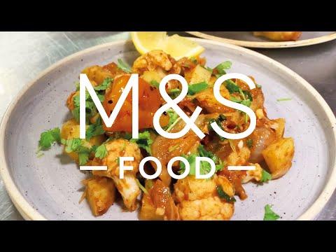 Chris' Speedy Potato and Cauliflower Curry   M&S FOOD