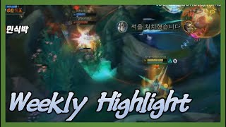 아펠리오스 장인의 한타 포지션│Weekly Highlight #3