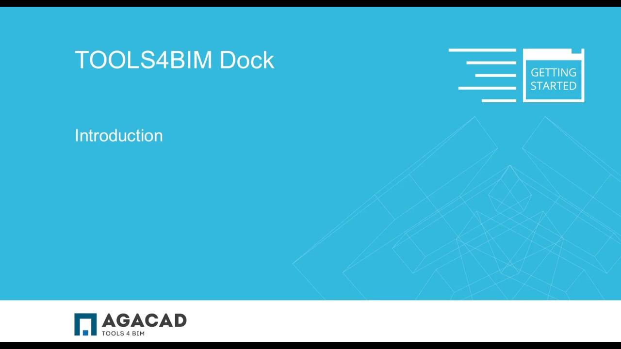 TOOLS4BIM Dock - a separate interactive window in Revit