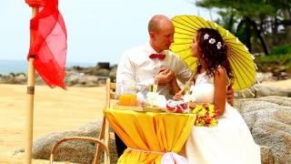 Денис+Екатерина,Свадебная церемония,Пхукет-слайдшоу