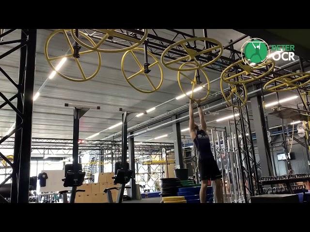 Vertical Rings Techniek zijwaarts met stop