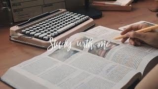 *with music* STUDY WITH ME : 공부할때 듣는 노래, 카페음악과 함께 공부해요! | 공부자극, 아이패드 노트필기