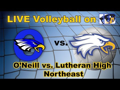 LIVE O'Neill v. Lutheran High Northeast Volleyball