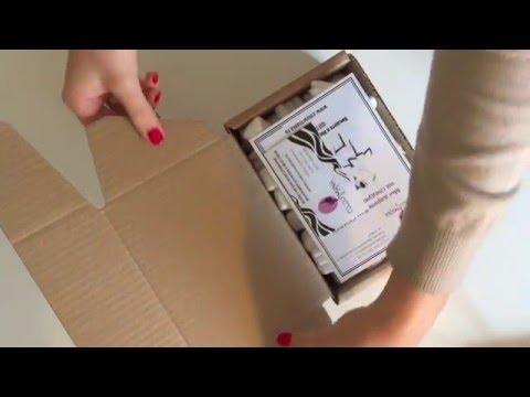 Упаковка посылок в интернет-магазине Colourmania.ru