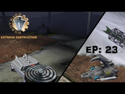 Hypno-Disc & Razer: Robot Wars Extreme Destruction part 23