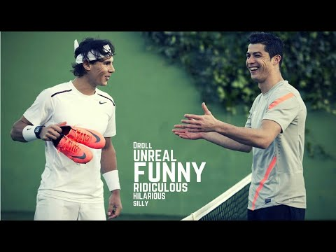 Tennis. Funny Moments (Celebrity Edition) - Part 2
