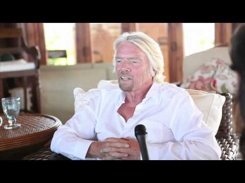 Richard Branson Necker Island Interview - Joe Polish Richard Branson