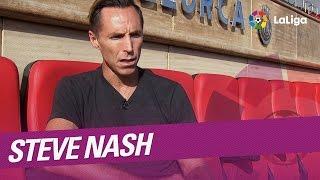 Entrevista a Steve Nash, asesor del RCD Mallorca