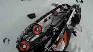 Как не надо ездить на снегоходе. Тайга Патруль 550 SWT. Хибины