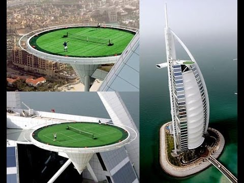 The Highest Tennis Court In The World / Tennis In The Sky ...