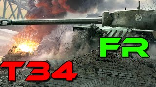 World of Tanks ||  Gameplay commenté FR || T34 | Mines | 0.9.14