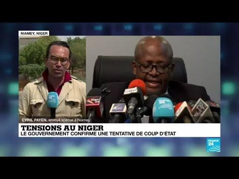 Tentative de coup d'État au Niger : le gouvernement annonce plusieurs arrestations