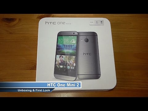 HTC One Mini 2 Unboxing and First Look