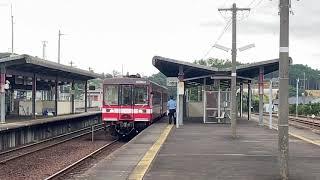 [ 鹿島臨海鉄道(大洗鹿島線)6000系] 発車動画!!