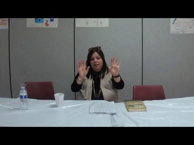 Mrs  Esther Anton   Women's Day of Learning