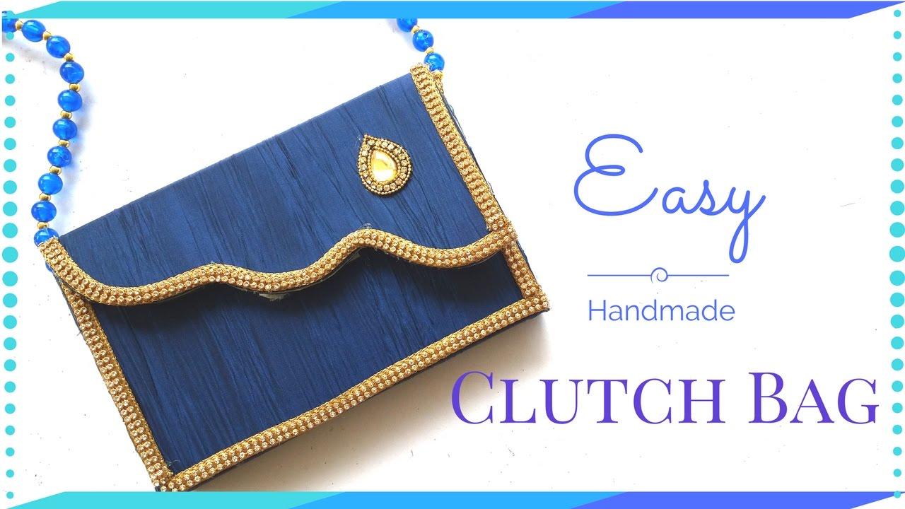 DIY Clutch Bag Tutorial