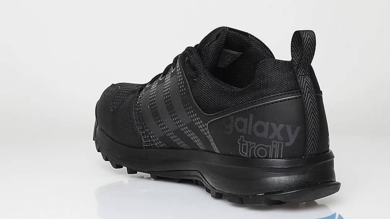 adidas galaxy trail black