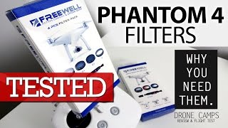 Phantom 4 Filters by Freewell - TESTED