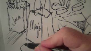 SPEED DRAWING: Graffiti!