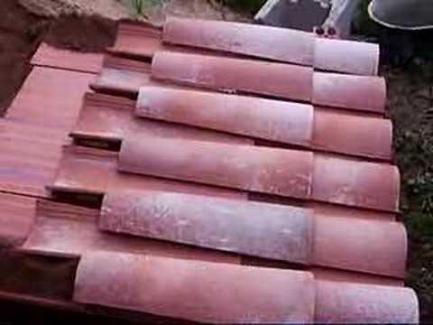 Bajo teja espuma de poliuretano funnydog tv for Tejado madera onduline